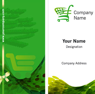 Ecommerce Business Card